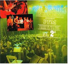 Fabrizio De Andre': In Concerto Arrangiamenti PFM Vol.2° - LP Limited 2010