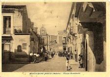 MONTALBANO JONICO  ( Matera )  -  Piazza Rondinelli