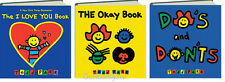 DO'S AND DON'TS, FEELINGS BOOK, OKAY BOOK  Todd Parr 3 Board Books NEW
