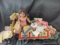 "Vtg American Girl ADDY WALKER Old Pleasant Company 18"" Black Doll Retired BUNDLE"
