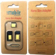 ORIGINALE imobile 4 in 1 Nano a Micro & standard telefonini sim adapter B