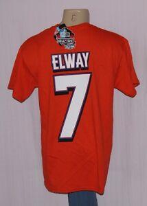 Majestic Denver Broncos John Elway #7 Eligible Receiver II Jersey T-Shirt M