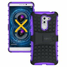 Exact Tank Series For Huawei Honor 6X Shock Proof Tough Rugged Case purple
