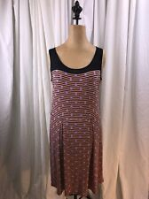 Cremieux Wonderlust Navy Sz S Anthropologie Dress Business Casual Stripes