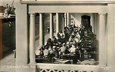 c1950 Humewood Cafe, Port Elizabeth, South Africa Real Photo Postcard/RPPC