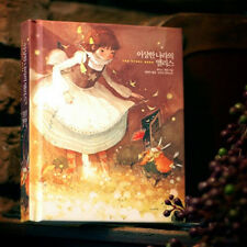 Alice in Wonderland by Lewis Carroll Illustration Hard Cover Korean Story Book