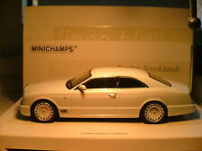 VERY RARE MINICHAMPS 1/43 RIGHT HAND DRIVE 2007 BENTLEY BROOKLANDS STUNNING NLA