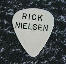 Cheap Trick // Rick Nielsen Vintage 1978 Tour Guitar Pick // White/Black