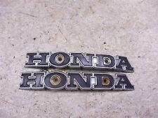 1970 honda cb100 H1339~ honda tank emblems badges