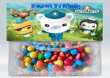Octonauts Personalized Birthday Treat Bag Topper Set of 2 (Printable) (DIY)