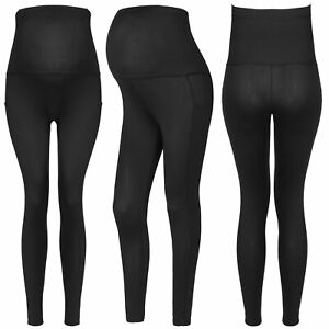 Maternity Leggings Elastic Yoga Slim Pregnant Women Track Sports Pants Clothes