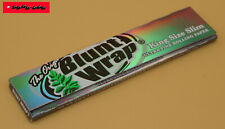 10 / 5 / 1 St. BLUNT WRAP SILVER Ultra Fine King Size Slim Papers - TOP QUALITÄT
