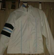 Ladies retro Nike White Running Jacket medium
