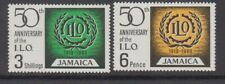 Jamaica 1969 ILO MiNr. 276 - 277 MNH