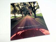 1997 Volkswagen Golf GTI Cabrio Jetta Passat Brochure (French)
