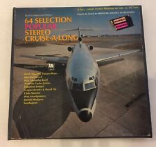 64 Selection Popular Stereo Cruise-A-Long Reel To Reel Tape 3 Hour Program