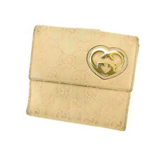 Auth Gucci W Hook Wallet Gucci Shima Women''s used D1529