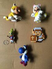 Jakks Pacific World Of Nintendo 2.5 FigLot Of 5 Mario Tetra 8Bit Link Blue Yoshi