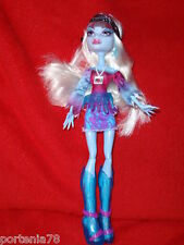 Monster High ABBEY BOMINABLE Music Festival LOOSE
