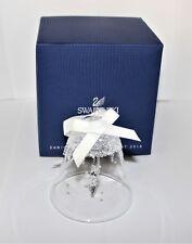 SWAROVSKI campanella di Natale Ornamento Grande 5221235 Nuovo di zecca Boxed RITIRATO RARO