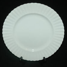 ROYAL ALBERT FINE BONE CHINA DINNER PLATE CHANTILLY PLATINUM PATTERN