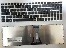 Lenovo G70-80 Z50-70 E50-70 Z50-75 UK Layout keyboard Silver Frame NO BACKLIT