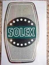 1  AUTOCOLLANT  DE POTENCE FOND  CHROME STRIE  N°5 SOLEX  VELOSOLEX