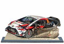 LATVALA, Rallye Monte Carlo 2017,Toyota Yaris WRC, en horloge miniature 05
