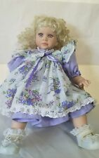 CHERI MCAFOOES ROYAL VIENNA  DOLL Signed LLOYD MIDDLETON