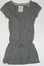 NWT! HOLLISTER by Abercrombie Womens Lightweight Tunic Top Shirt Gray S