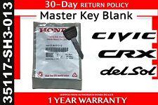 Genuine OEM Honda Civic Key Blank  (35117-SH3-013)