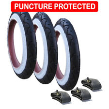 """Genuine Phil & Teds Dot Tyres with Inner Tubes Set of 3 (10"""") Puncture Protected"""