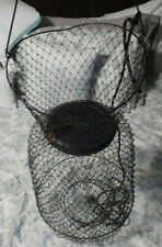 Collapsible Floating Wire Fishing Basket Stringer & Fish Basket Equipment