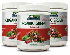 Miracle Fruit  - Organic Greens Powder Berry 9.7oz - Immune System Booster 3C
