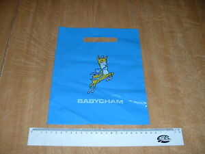 Vintage Babycham Plastic Carrier Bag