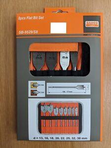 Bahco SB-9529/S8 8pc Flat Bit Set