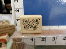 2000 stampin up butterflyspring insect rubber stamp 7q