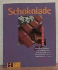 GU Backbuch: SCHOKOLADE