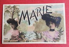 CPA. 1905. Prénom. MARIE. Jeunes Femmes. Chapeaux.