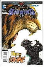 BATWING # 21 (DC COMICS, THE NEW 52! - AUG 2013), NM