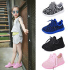 Fashion Kids Boys Girls Sports Running Shoes Trainers Breathable Sneakers New