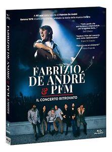 Fabrizio De Andre & Pfm Il Concerto Ritrovato Dvd Nuovo e Sigillato