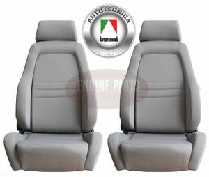 Autotecnica 4X4 4WD Explorer Bucket Seats ADR Approved Grey Universal