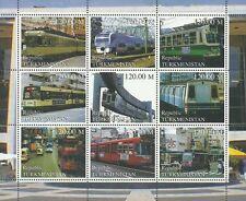 Timbres Trains Tramways Turkménistan Lot A ** année 2000 lot 14908