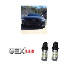 2 X P13W 6000K CREE SMD LED DRL DAYTIME RUNNING LIGHTS FIT AUDI A4 B8 2008-2012