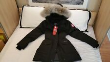 "BRAND NEW ""RED LABEL"" EDITION BLACK CANADA GOOSE TRILLIUM XXL-2XL PARKA JACKET"