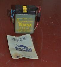 Yuasa 6v sla lead acid battery dry & unused. RC, Motorcycle, etc