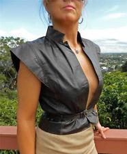 Leather Original Vintage Vests for Women
