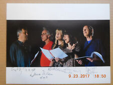 #45 PRANA BAIRD HERSEY BRUCE MILNER TIMOTHY HILL AMY FRADON AUTOGRAPH AUTO