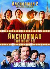 ANCHORMAN Complete Movie DVD Collection Part 1 2 New Sealed